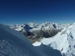 Gipfel des Alpamayo