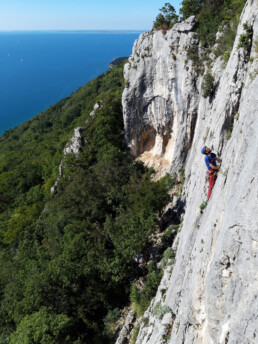 Klettern in Istrien