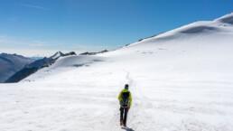 Abstieg vom Nadelhorn