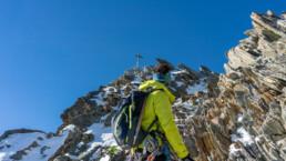 Gipfel des Nadelhorns