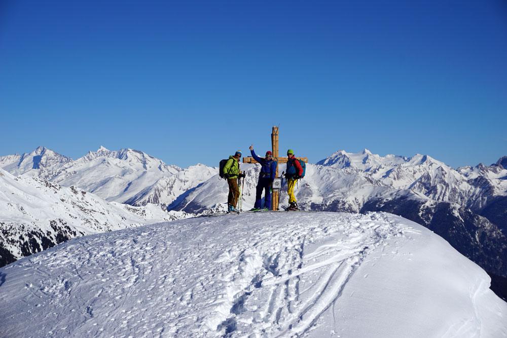 Gipfel der Einachtspitze