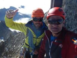 Gipfel Bietschhorn 3934 Meter