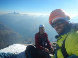 Gipfel Matterhorn 4478 Meter
