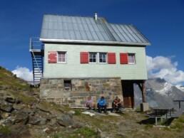 Weisshornhütte 2933 Meter
