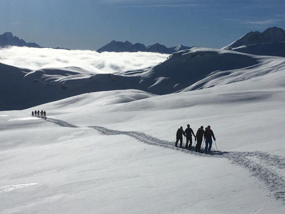 Skitouren Jenatschhuette