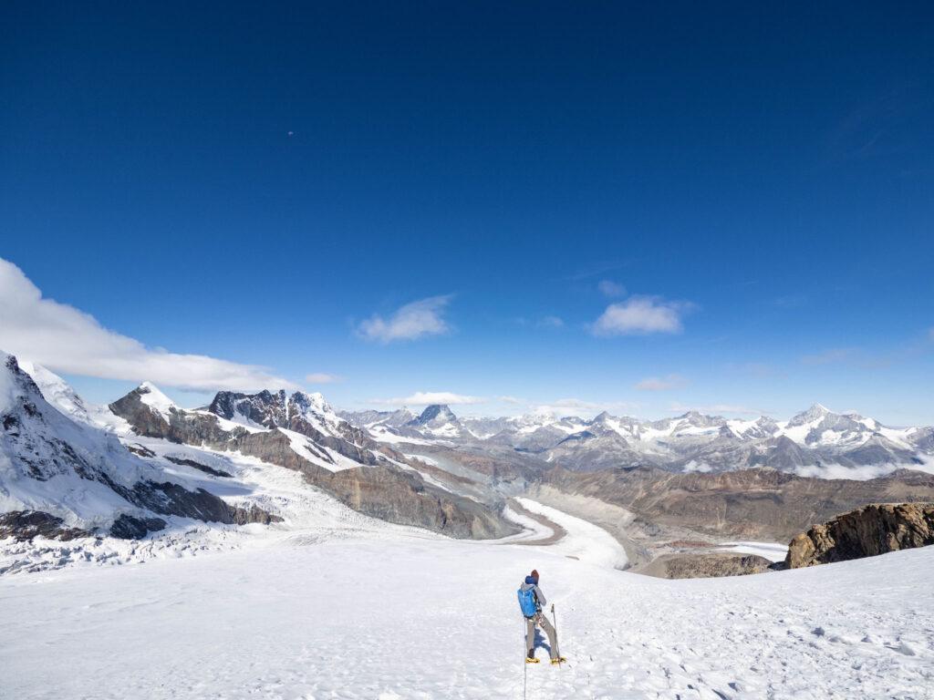 Abstieg Dufourspitze