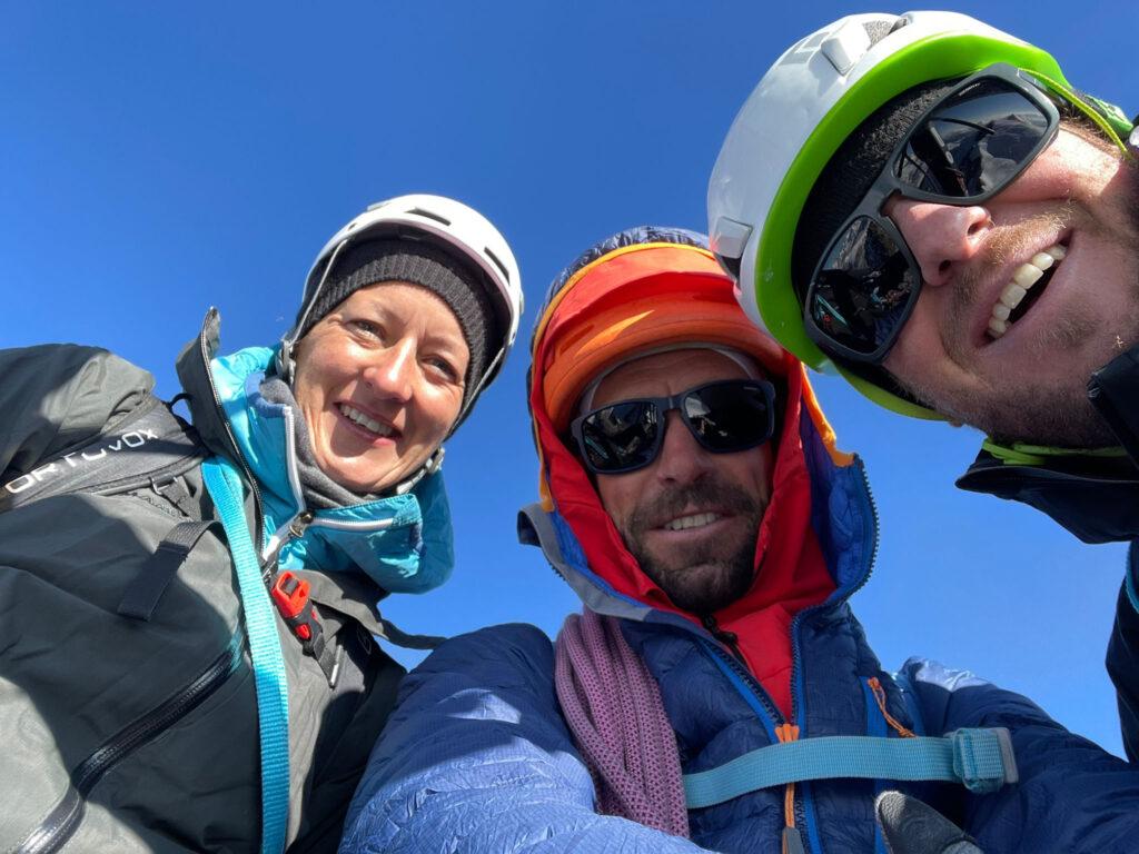 Gipfel Rimpfischhorn